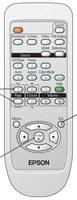 Epson 1491616 Remote Controls