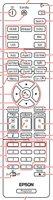 Epson 217331000 Remote Controls