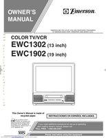 EMERSON EWC1302OM Operating Manuals