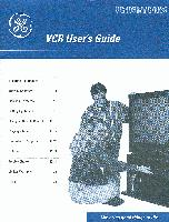 GE General Electric vg4038om Operating Manuals