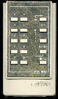 General Instrument 15000465 Remote Controls