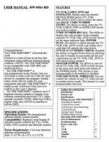 Generic 152129OM Operating Manuals