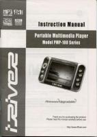 Generic PMP100OM Operating Manuals