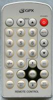 GPX kcl8806dt Remote Controls