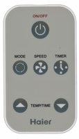 Haier AC562030 Remote Controls