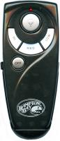 Hampton-Bay UC7083T Black Ceiling Fan Remote Control