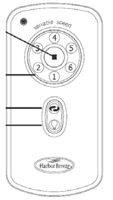 Harbor-Breeze A25-TX003-R/E/ER Remote Controls