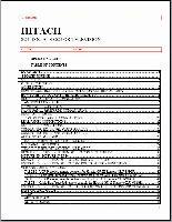 HITACHI 31cx4b/31ux5bom Operating Manuals