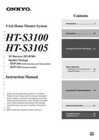 ONKYO htr340om Operating Manuals