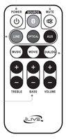 iLive ITB283B-Remote Remote Controls