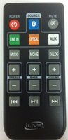 iLive ITB404B-Remote Remote Controls