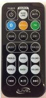 iLive REM-ITB382-EB Remote Controls