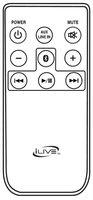iLive remitb037 Remote Controls