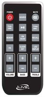 iLive REMITB124 Remote Controls