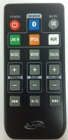 iLive remitb284 Remote Controls