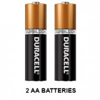 Include AA Battery 2 pack Batteries