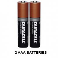 Include AAA Battery 2 pack Batteries