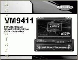 JENSEN vm9411 jensenom Operating Manuals