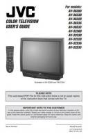 JVC AV32360ROM Operating Manuals