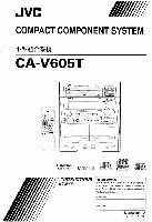 JVC CAV605TOM Operating Manuals