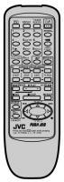 JVC hrj240e Remote Controls