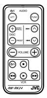JVC rmrk24 Remote Controls