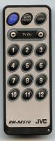 JVC rmrk510 Remote Controls
