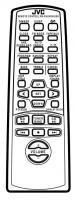 JVC rmrxumd9000r Remote Controls