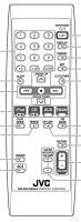 JVC rmsrx1028j1 Remote Controls