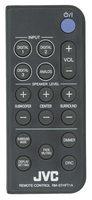 JVC rmsthft1a Remote Controls