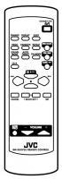 JVC rmsuxp5u Remote Controls