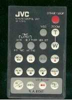 JVC rmv704u Remote Controls