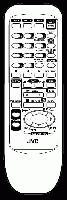 JVC rmvd608t Remote Controls