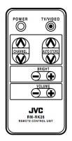 JVC tnqe152 Remote Controls
