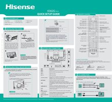 HISENSE 50k362gom Operating Manuals