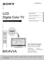 SONY kdl32ex520om Operating Manuals
