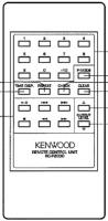 KENWOOD rcp2030 Remote Controls