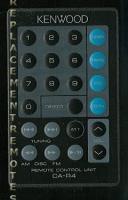 KENWOOD car4 Remote Controls