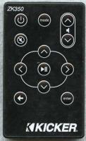 KICKER ZK350 Remote Controls
