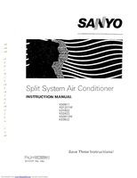SANYO KS0911OM Operating Manuals