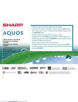 SHARP LC70TQ15UOM Operating Manuals