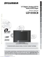 SYLVANIA ld155sc8om Operating Manuals