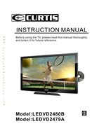 CURTIS ledvd2480bom Operating Manuals