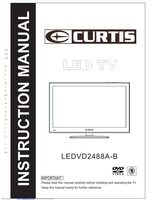 CURTIS ledvd2488aom Operating Manuals
