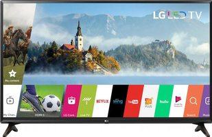 LG 43lj550m TVs
