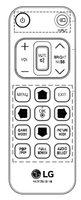 LG AKB72913118 Remote Controls