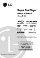 BH200 Blu Ray PlayerOM