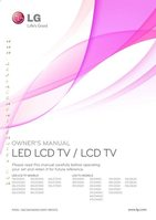 LG LG LCDandLEDOM Operating Manuals