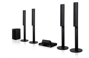 LG LHB655FB Home Theater Systems