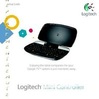 Logitech revueminiOM Operating Manuals